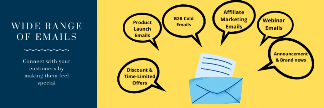 Different types of email marketing services in Pune