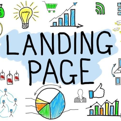 Landing-page  Lead Generation Ads using Video of your Product/Service landing page jpg