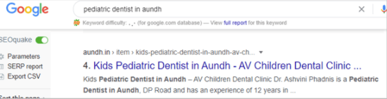 AV Children Dental Clinic Aundh