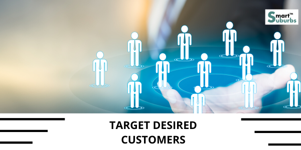 Target desired customers through lead generation