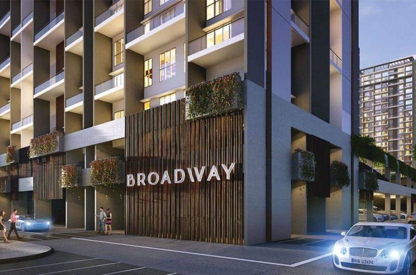 broadway - broadway o - Broadway by Paranjape 4 BHK